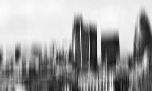 skyline abstraction by Steeeffiii