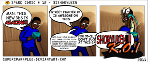 Spark Comic 12 - 3DShoryuken by SuperSparkplug