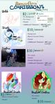 Commission Prices by ButteredRoses