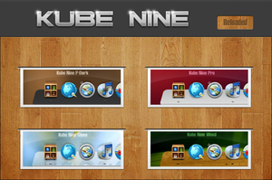 Kube Nine Reloaded for XWD by nardoxic