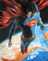 Superman Return by Mike6otto