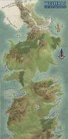Westeros Map by SociallyArtward