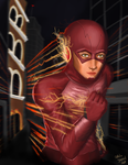 The Flash by HappyGirl06