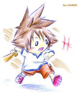 Chibi Sora-kid ver. by hangdok