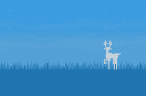White Stag Wallpaper by TheCongressman1