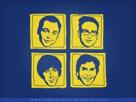 The Big Bang Theory by mikevectores