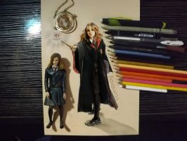 Happy 35th birthday Hermione by Williaaaaaam