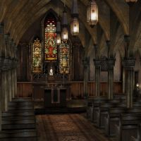 [Silent Hill 3] Cathedral by shprops4xnalara