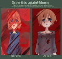 before and after meme silent hill pic by nyamo-nya