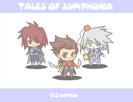 Teeny Tiny Tales of Symphonia by OutOfTheOrange