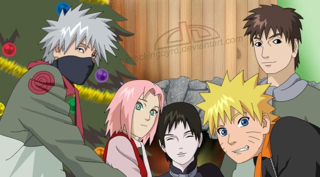 Have a Happy Naruto Christmas by Mockingbyrd