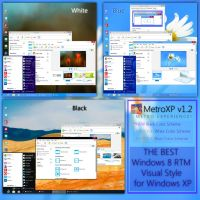 MetroXP v1.2 (Windows 8 RTM Visual Style for XP) by UnderwaterSun