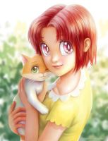 Sabrina and Miki by starca