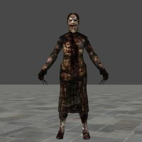 SILENT HILL DOWNPOUR SCREAMER ORIGINAL BONES by Oo-FiL-oO