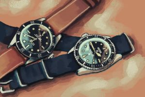 Rolex by buried-onsunday