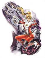 Saturn Girl by Cinar