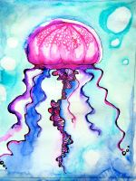 Jellyfish by HtebazileEnna