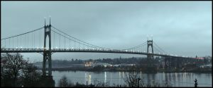 St. Johns Bridge by metro