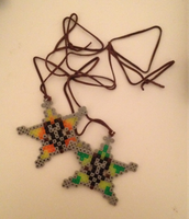 Kingdom Hearts- Perler Bead Wayfinders by ArcticBunnies