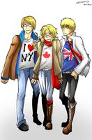APH Trio USA:CAN:UK by MMtheMayo