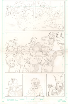 Mighty Morphing Power Rangers Pg3 by Nathan Webb by we66y