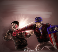 That Guy Punched Hitler in the Face! by ColAutumnsOvercoat