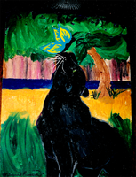 Old Cat Painting 02 by yanagi-san