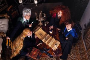The Big Four in Hogwarts! by Zoisite-Virupaksha