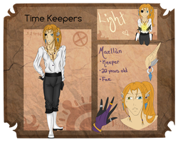 Time-Keepers Application: Maellan by MelodicSoul