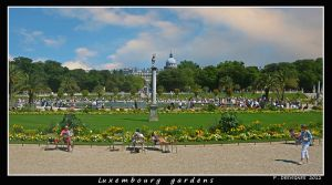 luxembourg garden by bracketting94