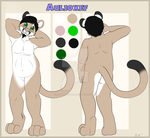Chaeacter Ref For Aulioxef2 by Shadowfoxnjp