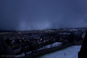 snowstorm in Stirling by Fortisinprocella