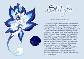 Stilyte Species Reference by CometShine