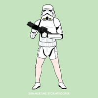 Summertime Stormtrooper by ChrisMMiller
