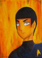 Mr Spock by corazongirl