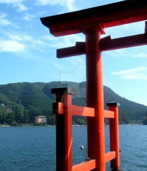 torii by miki-the-artist