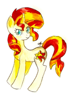 Sunset Shimmer by ChiuuChiuu