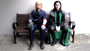 Thor and Loki by Senra-Eclipse