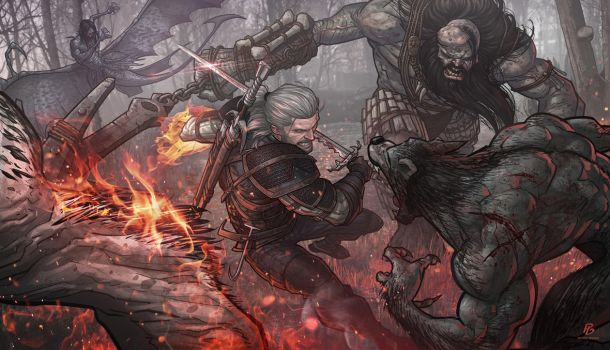 The Witcher 3 by PatrickBrown
