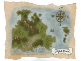 Map Commission Sample - Style 2 Extras by PhaeOBrien