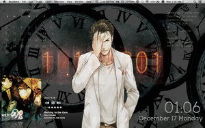 Steins gate Desktop by Sana--K