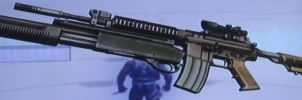 M4 with Scope and Master Key by 00Snake