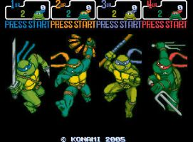 New TMNT 2 Arcade by 2ndCityCrusader