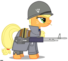 [RA Allied] Captain Applejack by A4R91N