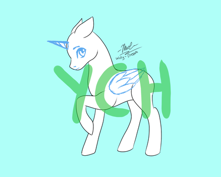 Pony YCH - [OPEN] by Wolly-Dream