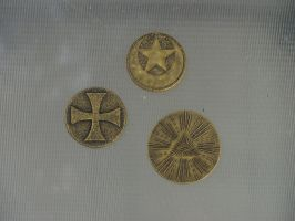 Three Ancient Tokens by VictorianSpectre