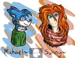Michael and Sunny request by Memockend