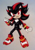 Shadow in Sonic Boom by GothNebula