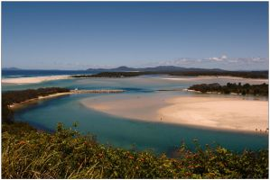 Nambucca River estuary 1 by wildplaces