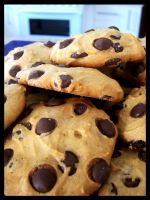 Chocolate chip cookies 3 by chunkymonk3y
